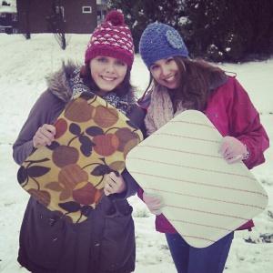 Snow trays