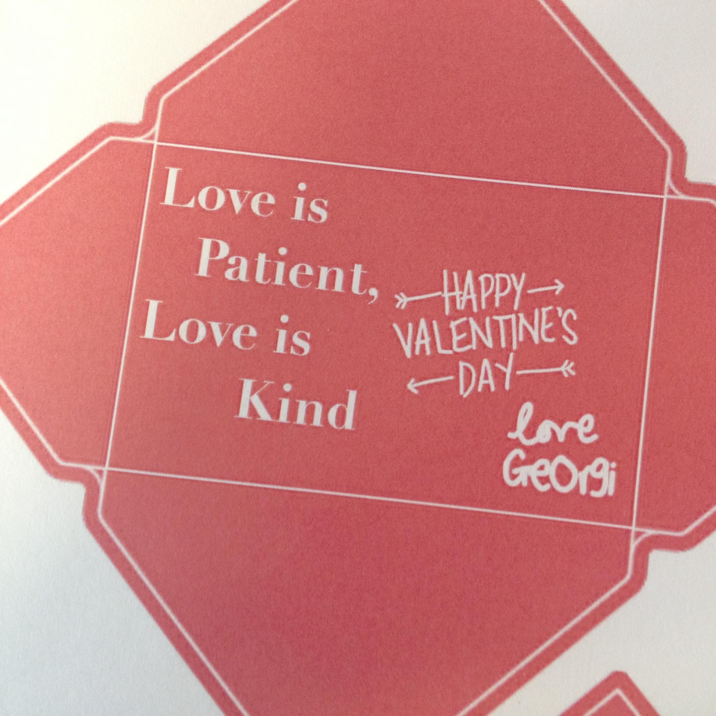 Valentines Day Mini Cards – Pretty Valentines Cards