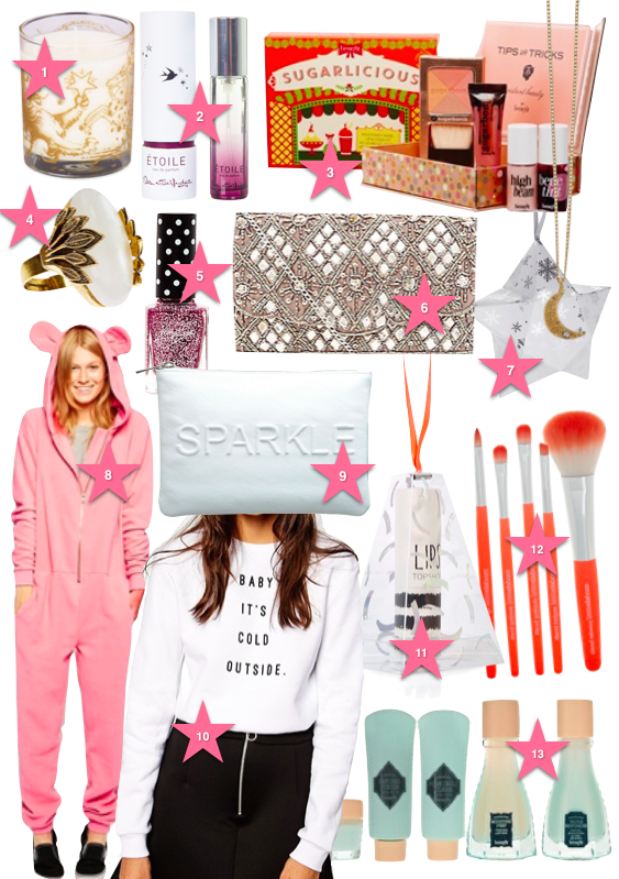 Gift list White and Pink jj